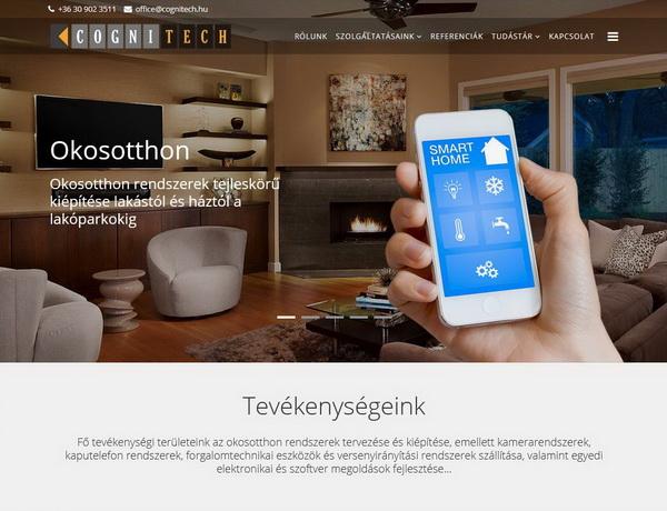 """Cognitech <a href=""""http://cognitech.hu"""" target=""""_blank"""">cognitech.hu</a>"""